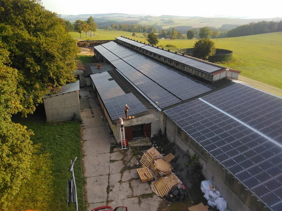 Instalacja przemysłowa dla gospodarstwa rolnego