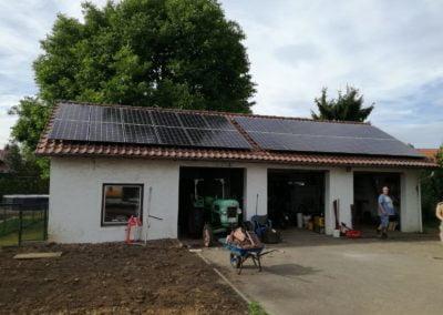 Garaż energia słoneczna