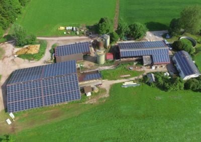 Instalację w gospodarstwach rolnych