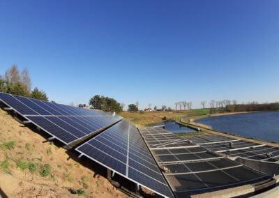 Elektrownia słoneczna na skarpie