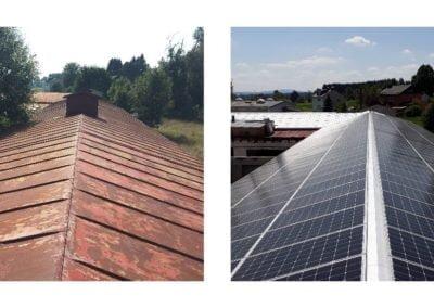 Renowacja dachu Before&After