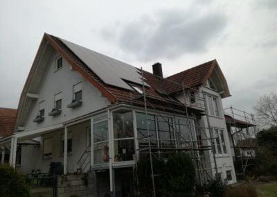 Rusztowanie dla elektrowni słonecznej