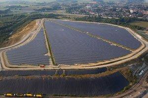 Przemysłowa elektrownia słoneczna